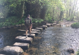 Image: Stepping stones at Lowertown, courtesy Ben Sanderson